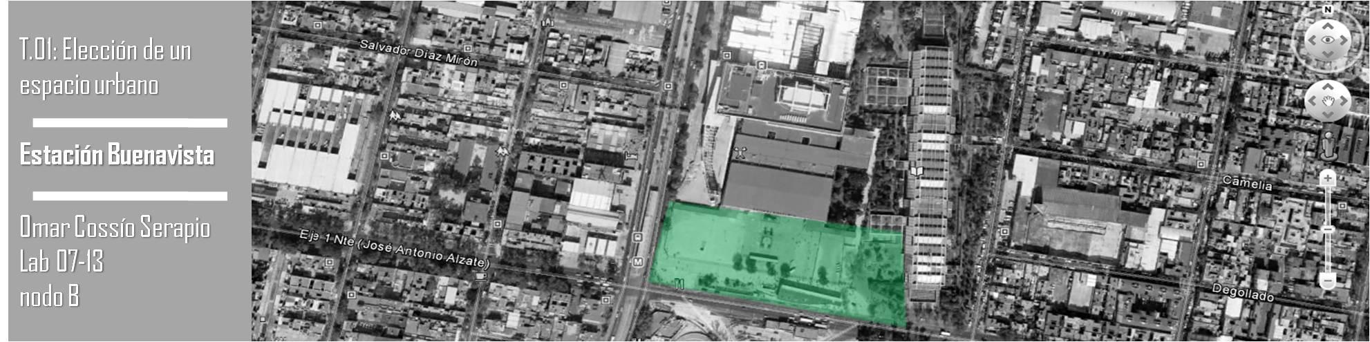 Imagen satelital Buenavista