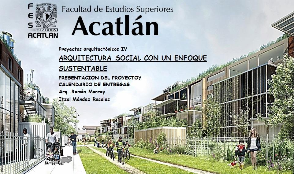 Arquitectura social con un enfoque sustentable nodolab for Portadas de arquitectura